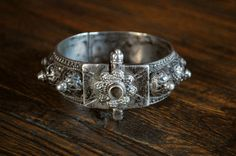 Antique Yemeni Bracelet with Granulation Work  by CosmicNorbu