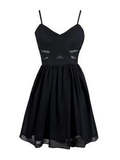 Simple Prom Dress,Spaghetti Straps Sleeveless Prom Dresses,Black Homecoming Dresses,Party Dresses for teens,Prom Dress With Pleats,Little Black Dresses #shortpromdresses