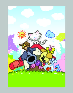 Woezel en Pip 'Overal Vriendjes' Words To Use, Kawaii Cute, Cartoon Kids, New Parents, Cupcake Cakes, Unicorn, Coloring, Snoopy, Blanket