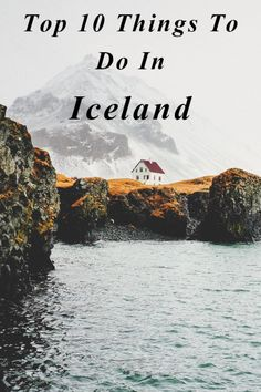 Iceland is one of the most incredible countries on earth! Read our Top 10 Things To Do In Iceland on the blog!