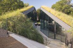 Edgeland House in Austin - Geneigtes Dach - Wohnen - baunetzwissen.de