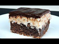 Pastel de chocolate y coco - YouTube