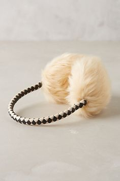 Faux-Fur Earmuffs #AnthroFave