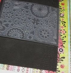 200  embossing ideas....wow!!!