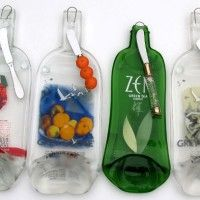 Recycled Bottle Art - Glass By Erica creates custom recycled bottle art including functional cheese boards, spoon rests, and ash trays that make great gifts for wine lovers too. Wine Bottle Art, Wine Bottle Crafts, Mason Jar Crafts, Liquor Bottles, Bottles And Jars, Melting Glass, Recycled Glass Bottles, Bottle Cutting, Gifts For Wine Lovers