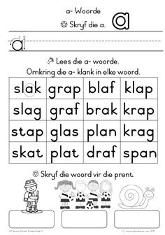 werkkaarte graad 2 afrikaans - Google Search Afrikaans, Math Equations, How To Plan, Google Search, Words, Horse