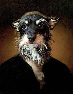 ceeabb6d2232 Thomas Jefferson - Pet Portrait - Custom Renaissance Pet Dog/Cat Portraits  - Digital personalized portrait painting using your Pet's Photo