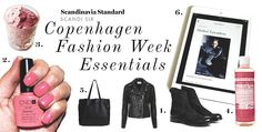 SCANDI SIX Copenhagen Fashion Week Essentials 2014