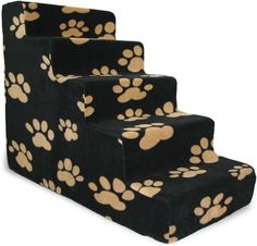 Best Pet Supplies Foam Pet Stairs are great for any pet in your household pack. They give pets easy access to their favorite spots and are especially helpful for seniors that have trouble jumping and cats or dogs with joint problems. These steps come in three sizes to fit your needs. The three-step model is 13 inches tall to help small pets access couches or chairs that are low to the ground. The four-step measures 19 inches so your pets can reach sofas and get into cars easily. And the…