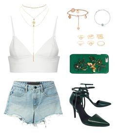 """""""Untitled #316"""" by gr20gk on Polyvore featuring Alexander Wang, T By Alexander Wang, Charlotte Russe, Links of London and Dolce&Gabbana"""