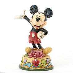 Jim Shore for Enesco Disney Traditions Mickey July Figurine 4Inch * More info could be found at the image url.