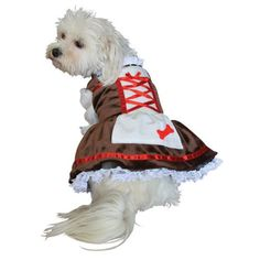 acb5267f1 Beer Girl Oktoberfest Halloween Costume for Dogs