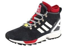 #ADIDAS #ORIGINALS #Herren #Sneaker #rot / #schwarz - Wind- und wasserdicht…