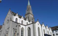 St.Gallen in der Schweiz, liegt unweit des #Bodensee St Gallen, Notre Dame, Building, Travel, Old Town, Switzerland, Places, Viajes, Buildings