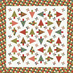 Such a fun quilt pattern!! Jovial quilt by Basicgrey on United Notions (Moda).