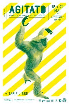 Agitato 2011, Festival de danse & des Arts Agités. #Poster
