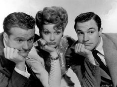 """mis actrices preferidas — Red Skelton-Lucille Ball-Gene Kelly """"La Dubarry... Golden Age Of Hollywood, Hollywood Stars, Classic Hollywood, Old Hollywood, Hollywood Night, Lucille Ball, Classic Movie Stars, Classic Tv, Classic Movies"""