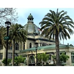 Beautiful, grand architecture of the San Mateo County History Museum (at the Old County Courthouse) in downtown Redwood City