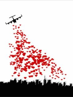 Just flying over to drop hearts all over your house and lawn !!... Lol. Surprise !!!.... Happy valentines day !!!!! And everyday !! Oooooooooooooo. : c )