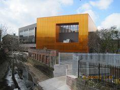 £8m Blackburn Youth Zone Danpalon polycarbonate facade