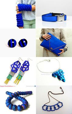 Electric blue by Sonia on Etsy--Pinned with TreasuryPin.com