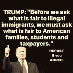 what about health insurance for AMERICANS! Must we keep handing it all over to illegals while OUR OWN go without? This makes no sense. We need take care of US first. American Life Insurance, Buy Life Insurance Online, Our President, Conservative Politics, Political Views, We The People, Donald Trump, Presidents, Wisdom