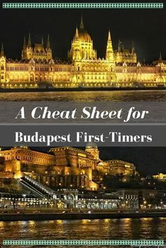 Planning travel to Budapest Hungary? Here's an informative Cheat Sheet for Budapest First-Timers with things to do + Download your FREE copy of the Budapest Cheat Sheet! #TravelEuropeCheatSheets
