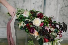 A Flower Workshop with Amy Osaba Events #wedding #bouquet