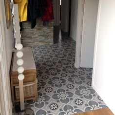 Carrelage carreau aspect ciment bordure valvane 20 20 saint maclou floor pinterest saint - Credence cement tegels ...