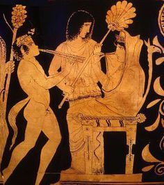 calypso playing the flute to odysseus - Google Search