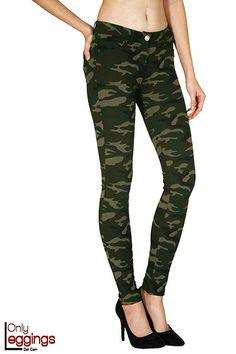 Commanding Camouflage Pants - $42 at OnlyLeggings.com - #onlyleggings