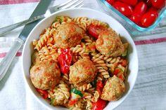 Easy Baked Turkey Meatballs ‹ Hello Healthy