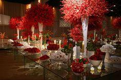 Flores Vermelhas Arrepiadas