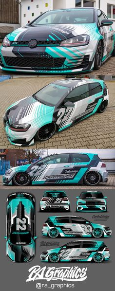 Here are some more pics of the Lowpeppairmint Golf, Application buy Cartecdesign.de Autofolierung Autoglas Car wrapping I had a lot of fun Not making any of the panels line up bit still compliment each other<br> Best Luxury Cars, Luxury Suv, Car Stickers, Car Decals, Lamborghini Huracan, Bugatti, Car Life Hacks, Golf 7 Gti, Vehicle Signage