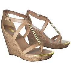 Women's Mossimo® Pembroke Wedge Sandal - Assorted Colors