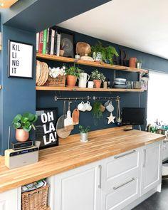 Mooie kleur keuken