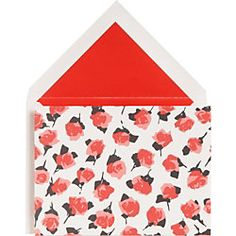 Kate Spade Roses Stationery