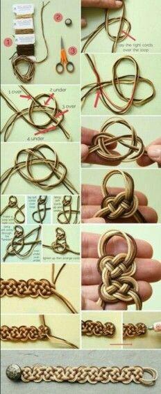 Ideas on using hemp cord