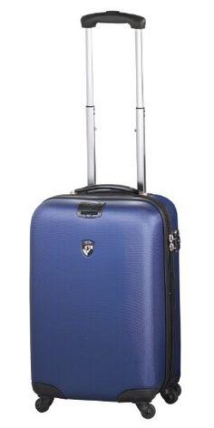 NUR SOLANGE DER VORRAT REICHT ... EINMALIGES ANGEBOT ... 350 Euro SPAREN ... PREMIUM DESIGNER Hartschalen Koffer - Heys Core Porter Metallic Blau - Handgep�ck
