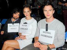 Peter Dinklage, Jennifer Lawrence & Nicholas Hoult