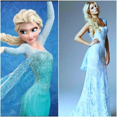 ice blue wedding dress- don't like the real dress but frozens is inspiring Frozen Wedding Theme, Disney Inspired Wedding, Disney Fancy Dress, Disney Princess Dresses, Disney Outfits, Ice Dresses, Wedding Bridesmaid Dresses, Frozen Inspired Outfits, Ice Blue Weddings