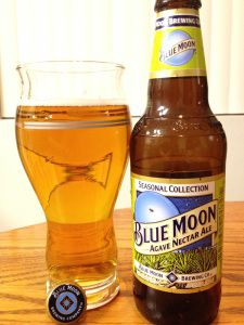 Blue Moon Agave Nectar Ale.  I am in love with this seasonal brew.  Very light and refreshing.
