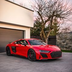 Red Audi, Audi R8 V10, Flying Car, Luxury Suv, Hot Cars, Exotic Cars, Bugatti, Cars Motorcycles, Dream Cars