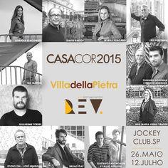 Arquitetos parceiros Casa Cor 2015