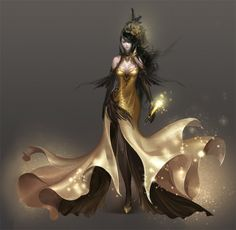fashion, league of angels, concept art, costume