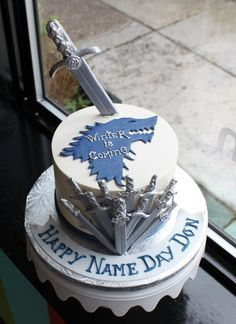 Game of Thrones Birthday Cake | Whipped Bakeshop
