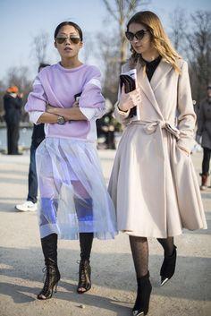 Paris A/W 2013 street style - part one gallery - Vogue Australia#top#top
