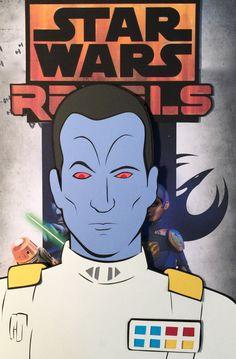 Star Wars Rebels Season Three Paper Cut-Outs: Thrawn - DocGold13