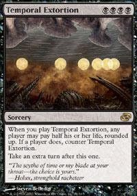 Magic: the Gathering - Temporal Extortion - Planar Chaos - Foil