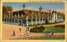 Dance Hall In Beautiful Idora Park Youngstown Ohio